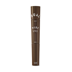 Dual Wide Eyes Mascara [#2 Brown x Brown]