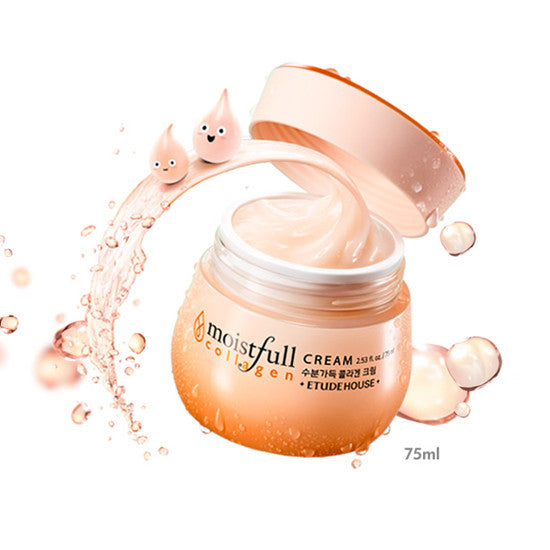 Etude House Moistfull Collagen Cream - Hikoco - Korean Beauty, Skincare, Makeup, Products in New Zealand - 2