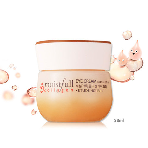 Etude House Moistfull Collagen Eye Cream - Hikoco - Korean Beauty, Skincare, Makeup, Products in New Zealand - 2