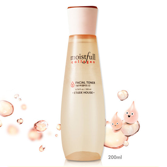Etude House Moistfull Collagen Facial Toner - Hikoco - Korean Beauty, Skincare, Makeup, Products in New Zealand - 2