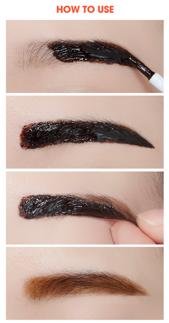 Etude House Tint My Brows Gel [#3 Grey Brown] - Hikoco - Korean Beauty, Skincare, Makeup, Products in New Zealand - 3