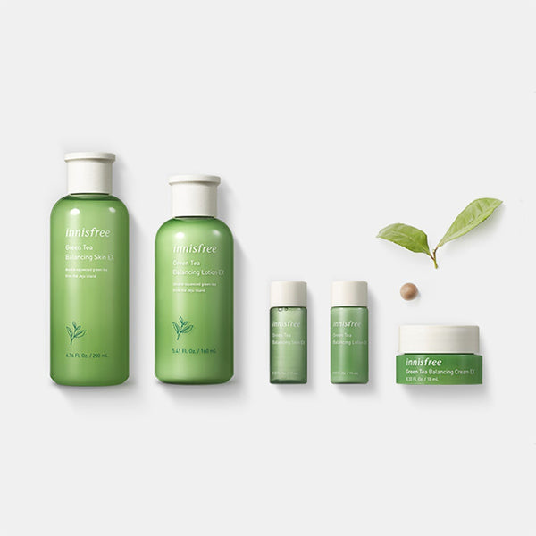 Green Tea Balancing Skin Care Set EX
