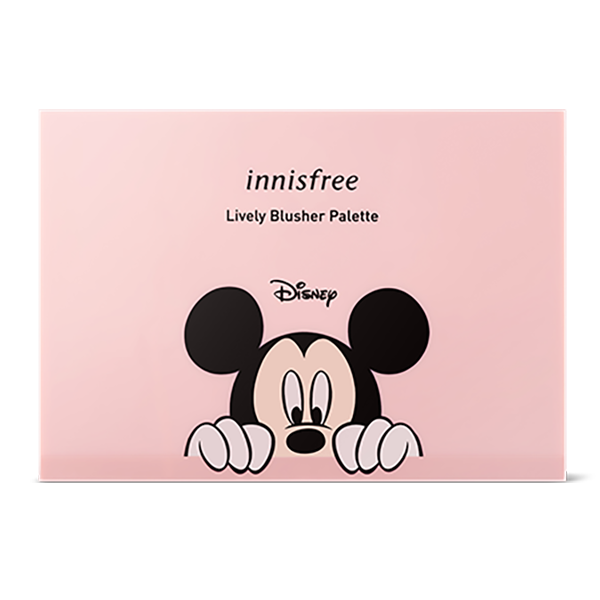 Mickey & Friends Lively Blusher Palette