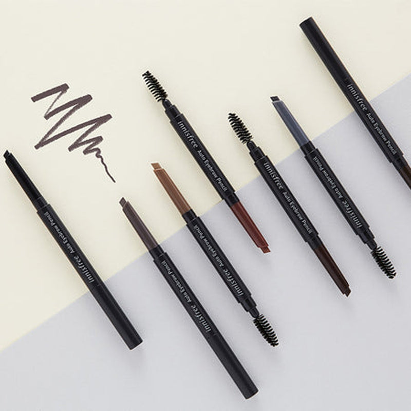Auto Eyebrow Pencil [#04 Early Morning Dew Ash Brown]