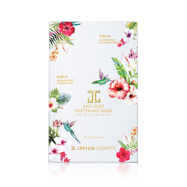 Anti-Dust Whitening Mask 3 Step Set [10 Masks]