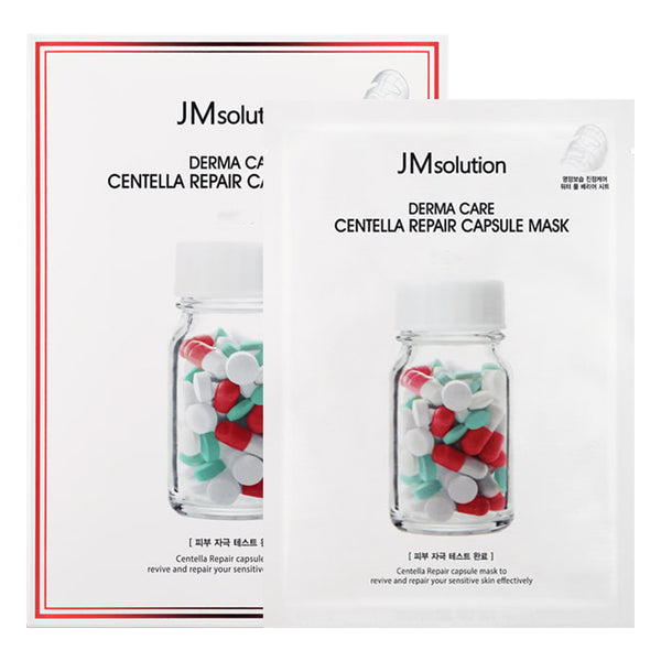 Derma Care Centella Repair Capsule Mask Set [10 Masks]