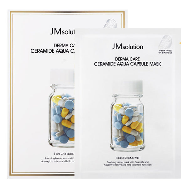 Derma Care Ceramide Aqua Capsule Mask Set [10 Masks]