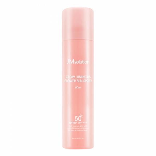 Glow Luminous Flower Sun Spray Rose SPF50+ PA++++
