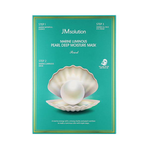Marine Luminous Pearl Deep Moisture Mask Set [10 Masks]
