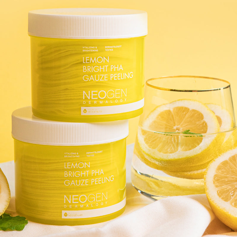 Lemon Bright PHA Gauze Peeling