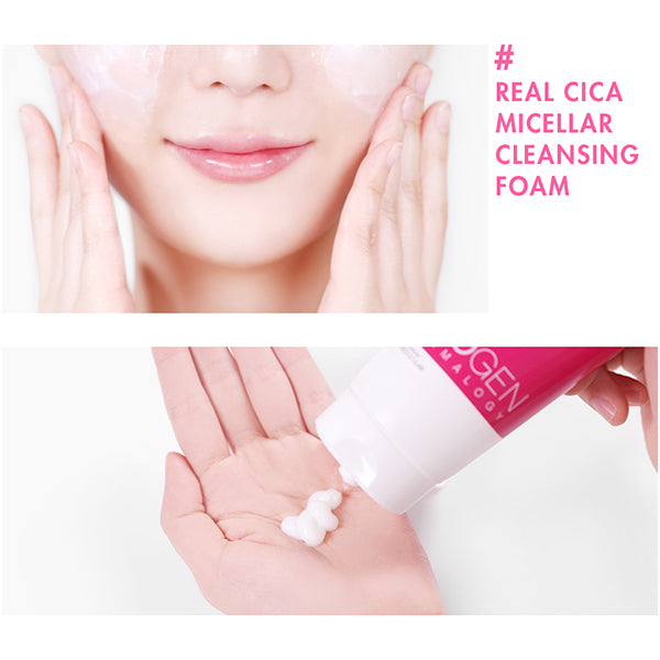 Real Cica Micellar Cleansing Foam