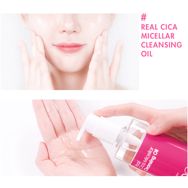 Real Cica Micellar Cleansing Oil