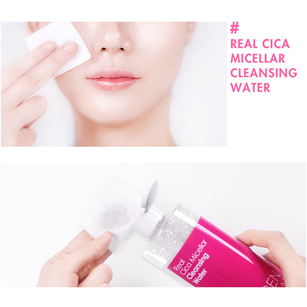Real Cica Micellar Cleansing Water