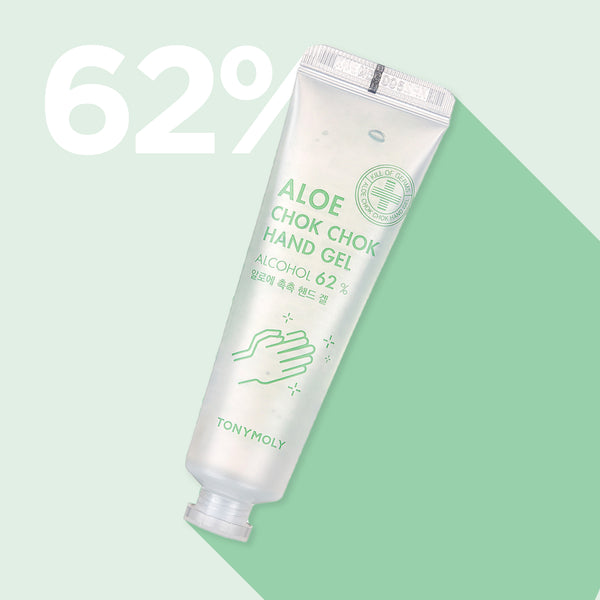 Aloe Chok Chok Hand Gel [Alcohol 62%]