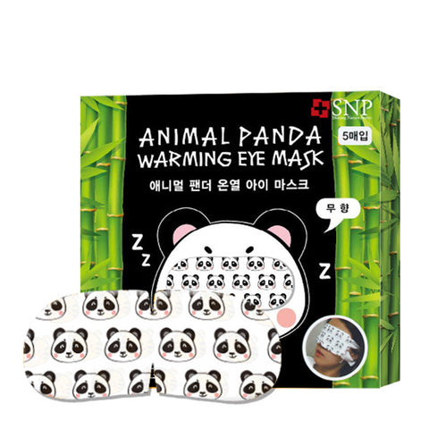 SNP Animal Panda Warming Eye Mask Set [5 Masks] - Hikoco - Korean Beauty, Skincare, Makeup, Products in New Zealand - 1