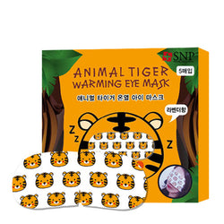 SNP Animal Tiger Warming Eye Mask Set [5 Masks] - Hikoco - Korean Beauty, Skincare, Makeup, Products in New Zealand - 1