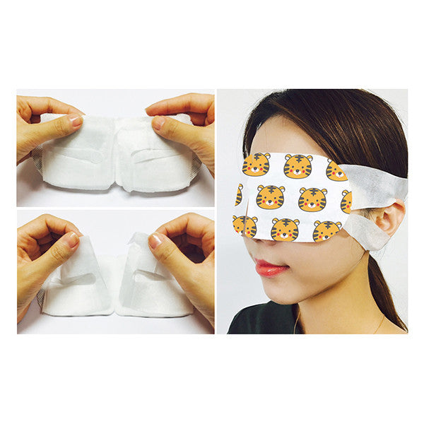 SNP Animal Tiger Warming Eye Mask Set [5 Masks] - Hikoco - Korean Beauty, Skincare, Makeup, Products in New Zealand - 3