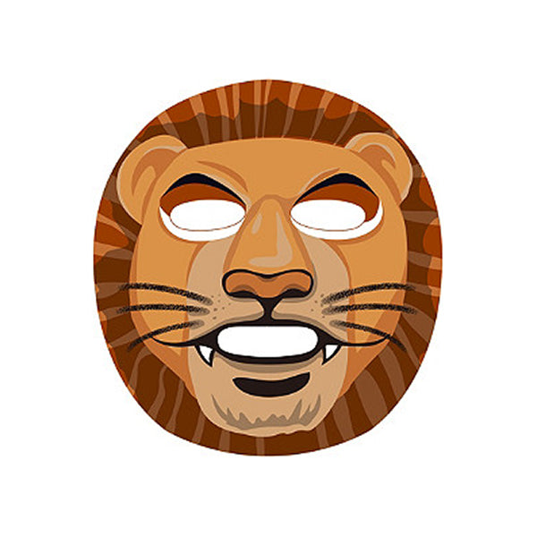 Animal Lion Revitalising Sheet Mask Set [10 Masks]