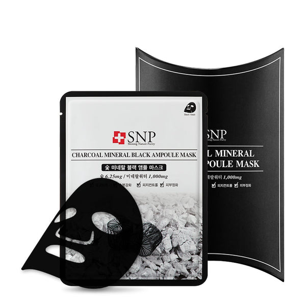 Charcoal Mineral Black Ampoule Mask Set [10 Masks]