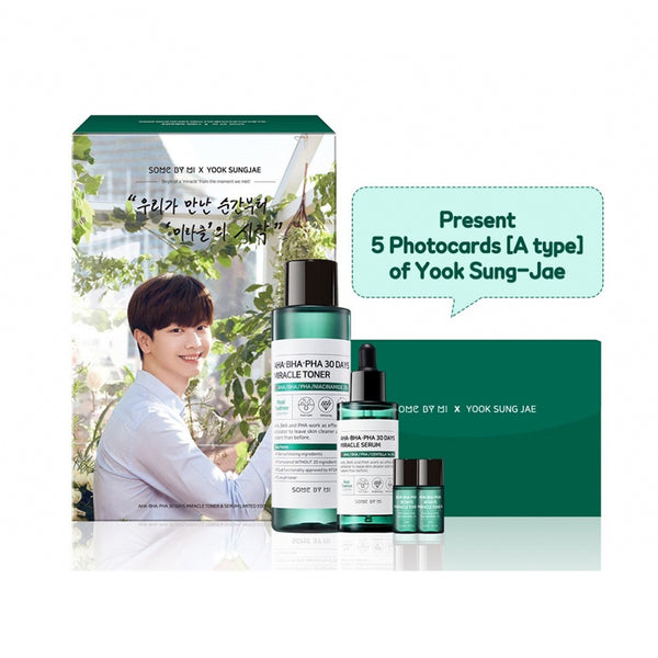 AHA BHA PHA 30 Days Miracle Toner & Serum Set [#Edition 1]