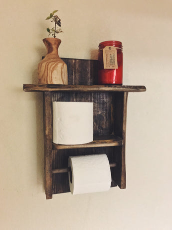 Wall Mounted Bathroom Caddy