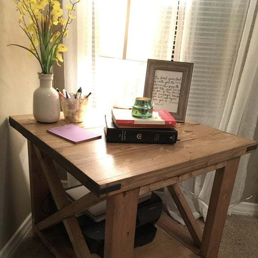 Farm-style End Table