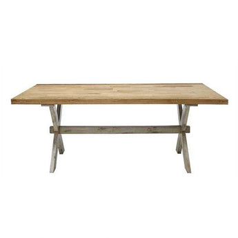 Elm Wood Dining Room Table
