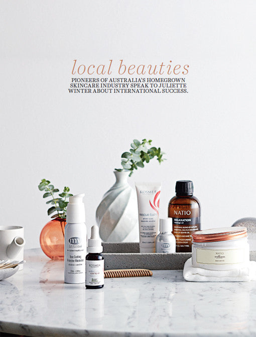 Country Style Local Beauties featuring MV Organic Skincare