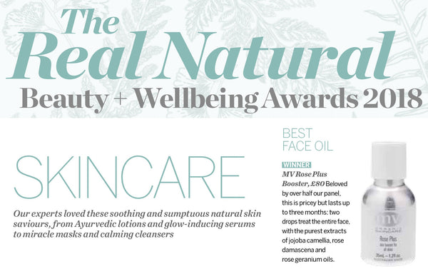 PSYCHOLOGIES MAGAZINE | The Real Natural Beauty + Wellbeing Awards 2018