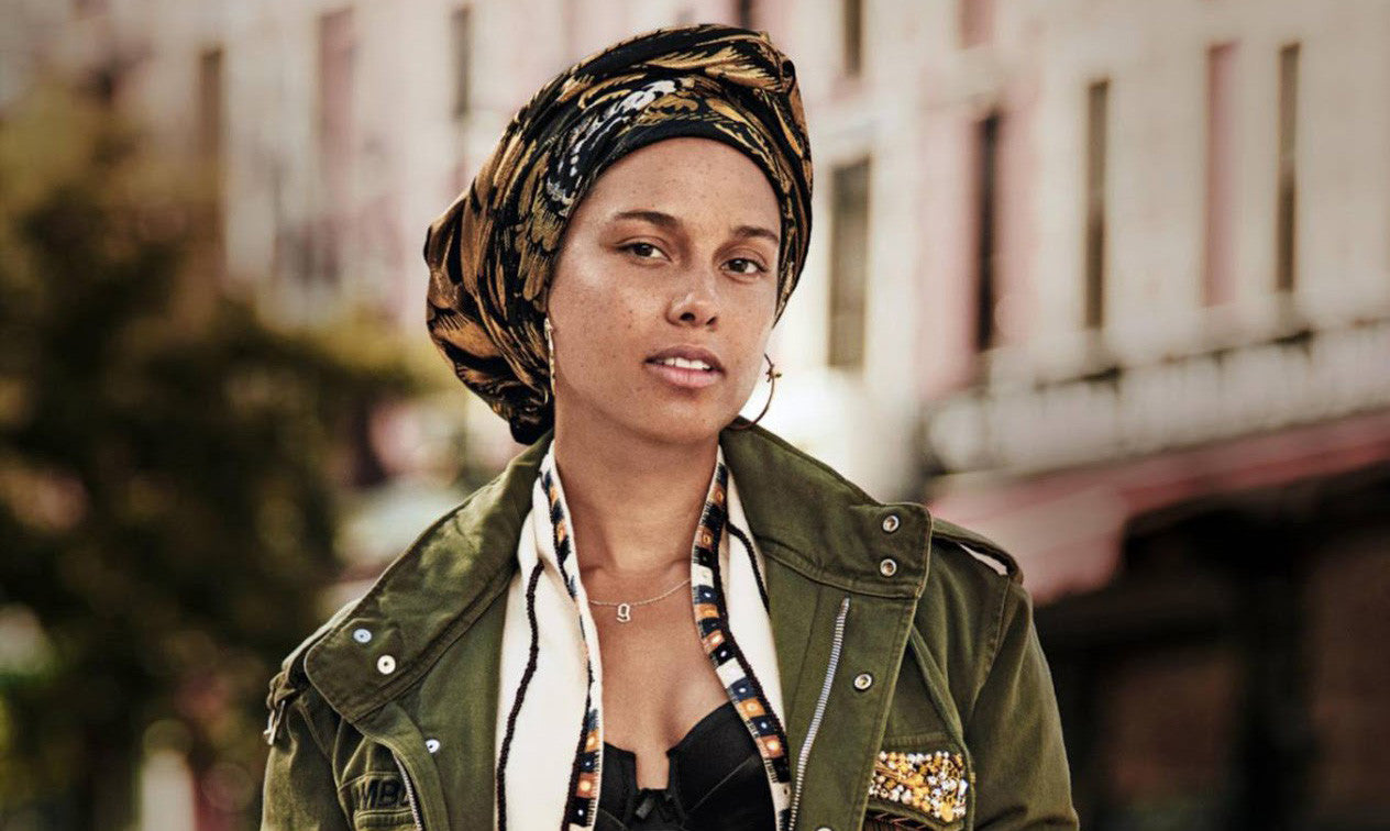 Alicia Keys for Grazia France