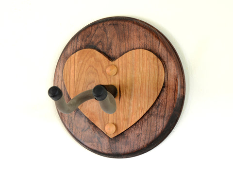 Heart Guitar Wall Hanger for Holding your Guitar with Love