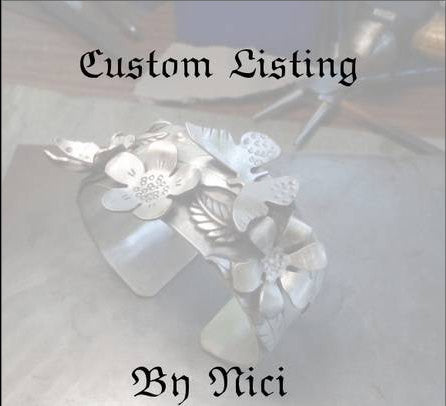custom listing for Shawn