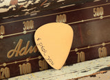 I Pick You Bronze Guitar Pick in Fancy Script