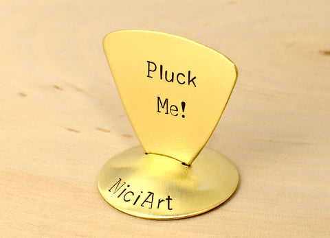 Pluck Me Triangular Guitar Pick
