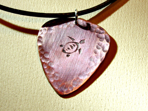 guitar pick necklace fullxfull heart oazo i il niciart copper with you products