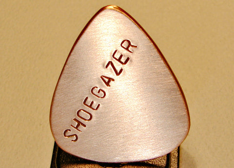 Copper Shoegazer Handmade Guitar Pick
