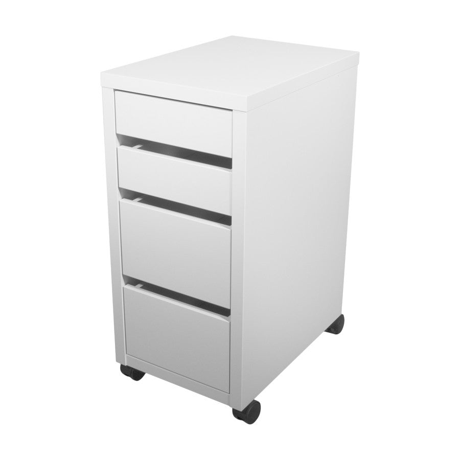 IKEA Micke Drawer Unit on Castors White