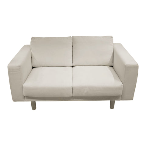 NORSBORG TWO SEAT SOFA IN FINNSTA WHITE