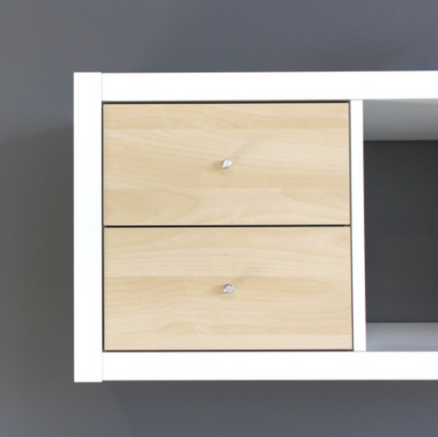 IKEA Kallax Two Drawer Insert Birch