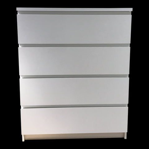 MALM CHEST 4 DRAWERS