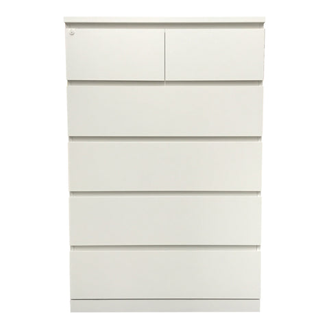 MALM CHEST 6 DRAWERS - TALL