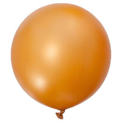 36 Inch Latex Balloons (Gold)