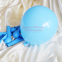 5 Inch Latex Balloon (Light Blue)