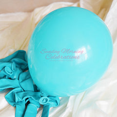 5 Inch Latex Balloon (Teal)