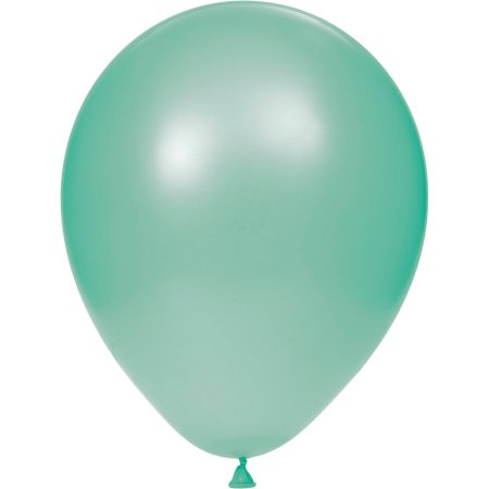 "12"" Pearl Latex Balloon Mint Green"