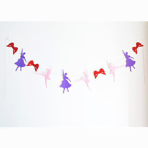 Ballerina Party Bunting