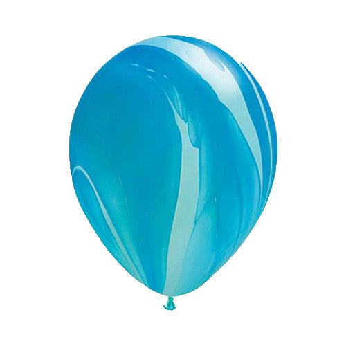 "12"" Marbled Balloon (Ocean Waves)"