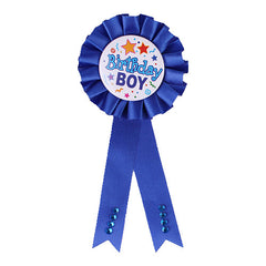 Birthday Ribbon Badge (Boy)