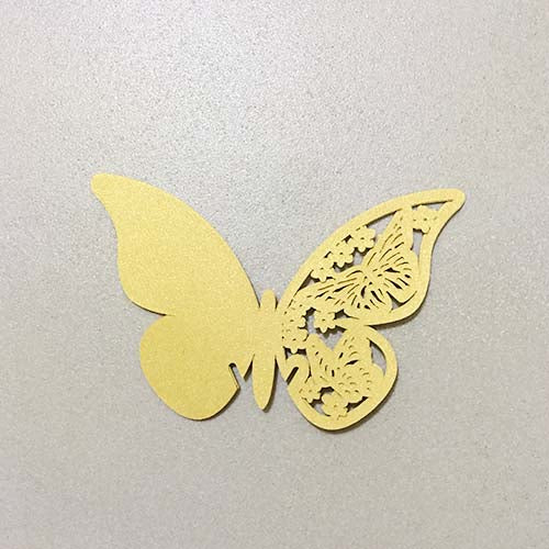 Butterfly Cut Out (Gold)