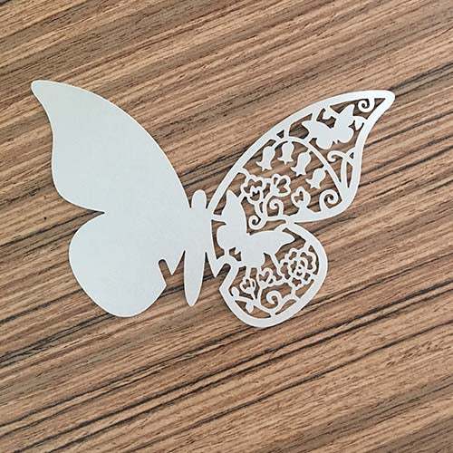 Butterfly Cut Out (Silver)